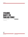 OM0406 Spratlan: Streaming: Quartet for Piano and Strings