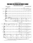 OM0412 Spratlan: Four Songs for Soprano and Women's Chorus - Page 1