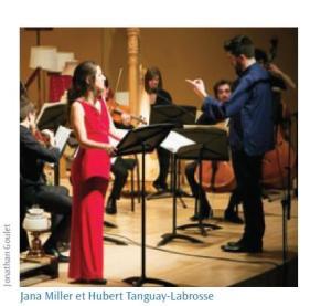 Jana Miller et Hubert Tanguay-Labrosse